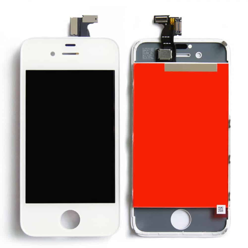 iphone 4 white lcd repair. Black Bedroom Furniture Sets. Home Design Ideas