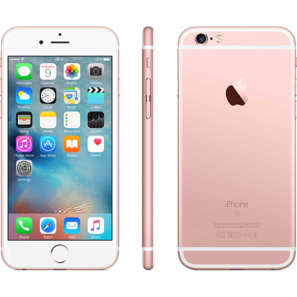 rose gold iphone iphone 6s space rosegold 64gb 12899