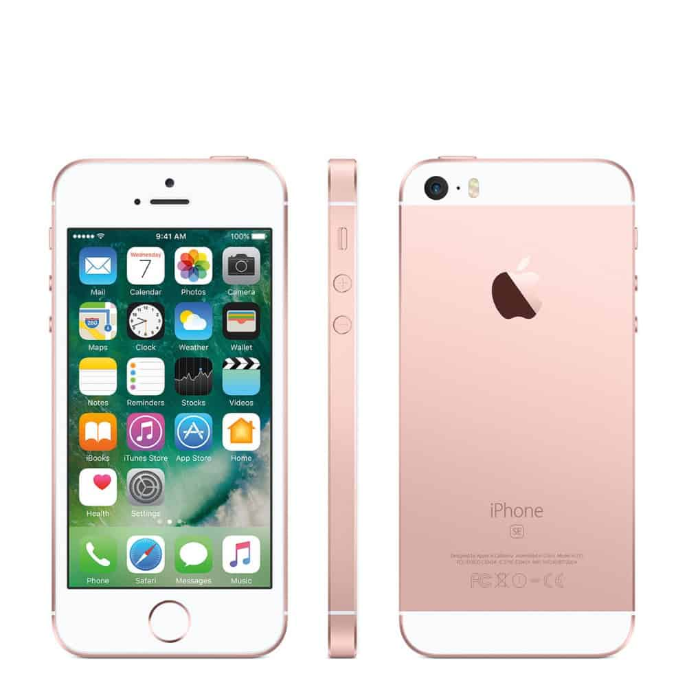 iPhone SE Space Rosegold 16gb