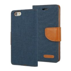 iPhone 6 Blue Canvas Case
