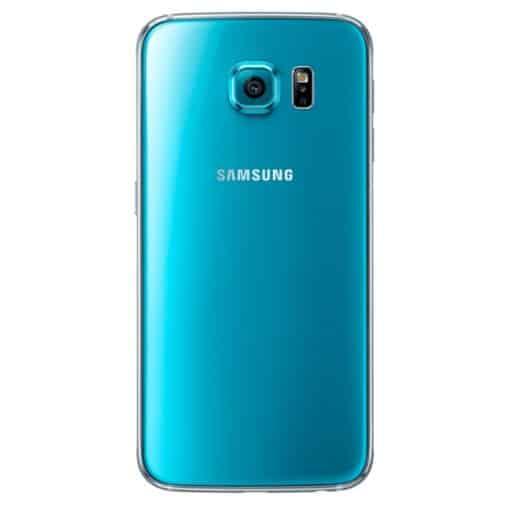 Back of Blue Samsung Galaxy S6
