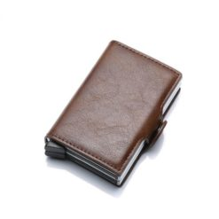 Brown Wallet with RFID Protection