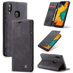 CaseMe, Samsung Galaxy A40, Wallet Case - Black