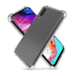 Goospery, Galaxy A70, Super Protect, Clear Case - Air Cushioned Corners