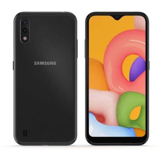Black Samsung A01